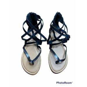 Dream paris Sandals back zip up size 10